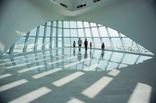 Quadracci Pavilion Art Museum, Milwaukee, Wisconsin, USA : Stock Photo