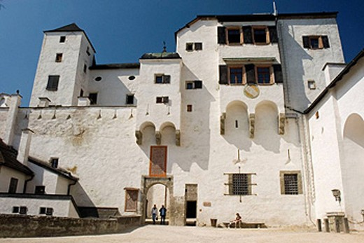 Castle, Salzburg. Austria : Stock Photo