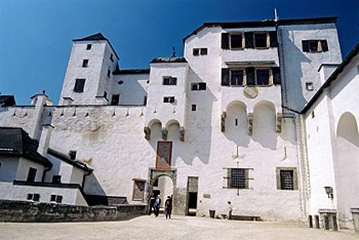 Stock Photo: 1566-407790 Castle, Salzburg. Austria