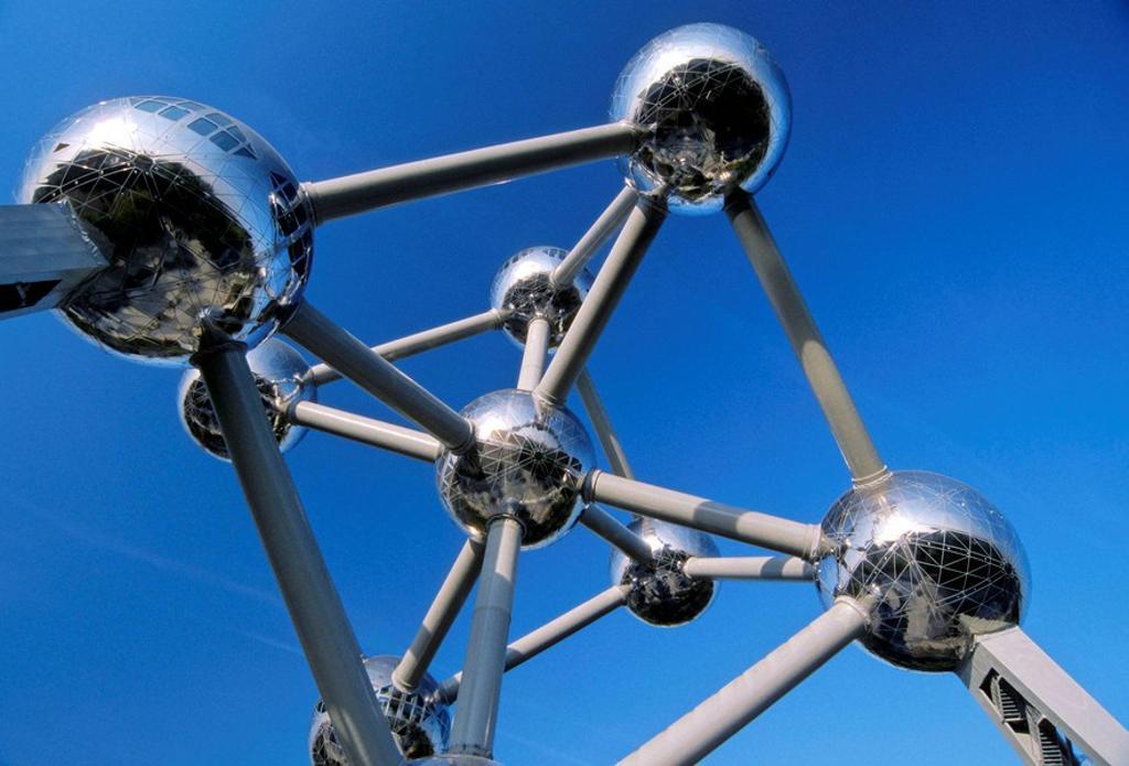 Stock Photo: 1566-407800 Atomium, Brussels. Belgium
