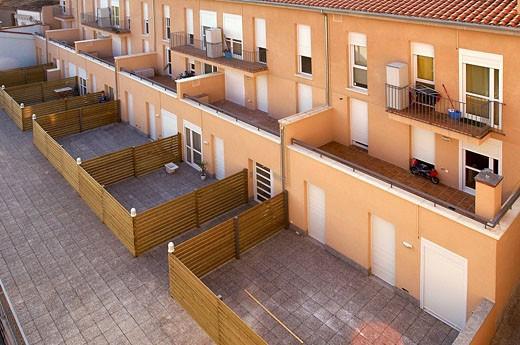 Housing development : Stock Photo
