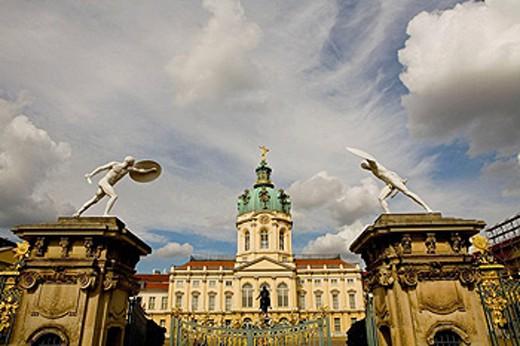 Stock Photo: 1566-410127 Charlottenburg Palace, Berlin, Germany