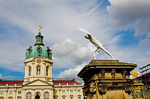 Stock Photo: 1566-410128 Charlottenburg Palace, Berlin, Germany