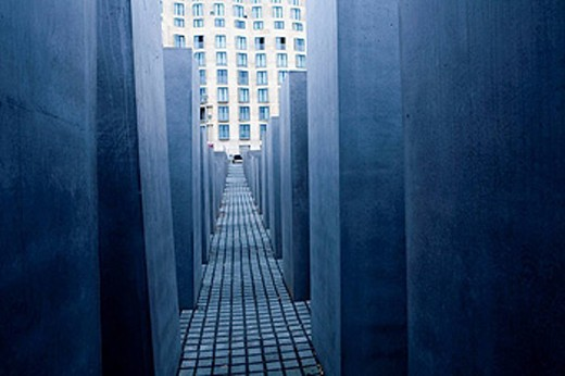 Holocaust Memorial, Berlin, Germany : Stock Photo