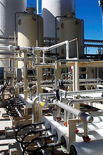 Stock Photo: 1566-411158 Power plant, Mexico