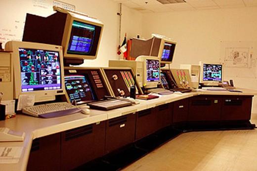 Stock Photo: 1566-411160 Power plant, Mexico