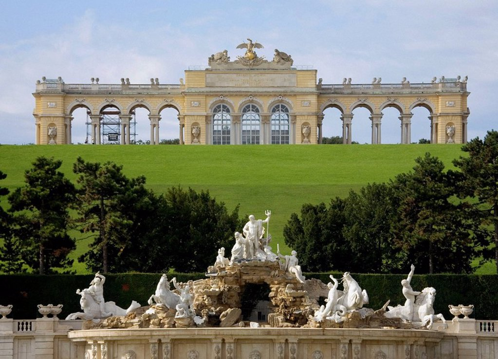 Austria, Vienna, Schonbrunn Castle : Stock Photo