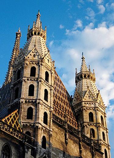 Austria, Vienna, Saint Stephens Cathedral Stephansdom : Stock Photo
