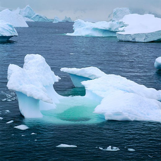 Stock Photo: 1566-414392 Iceberg, Antarctica