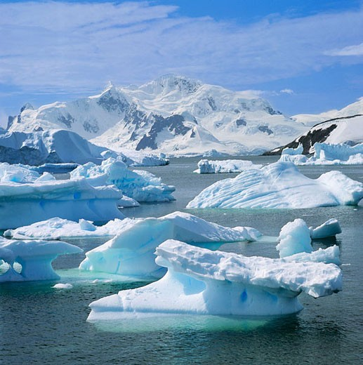 Stock Photo: 1566-414395 Iceberg, Antarctica
