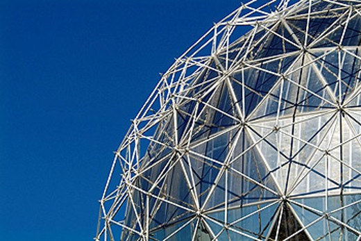 Stock Photo: 1566-414859 Telus World of Science, False Creek, Vancouver, BC, Canada