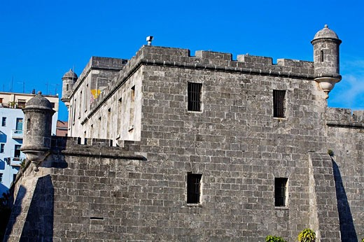 Stock Photo: 1566-415233 Castle, Havana Vieja, Havana, Cuba