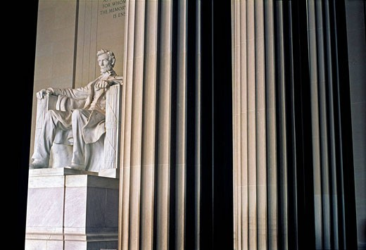 Stock Photo: 1566-415267 Lincoln Memorial. Washington D.C. USA