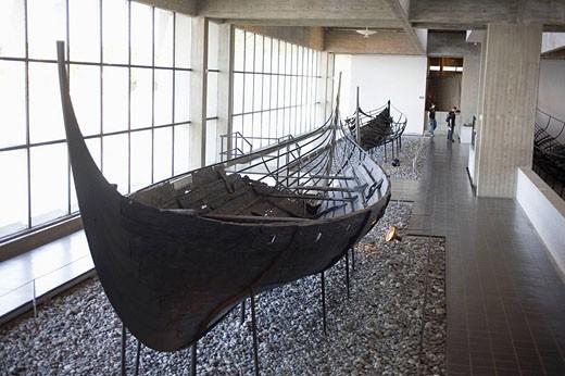 Stock Photo: 1566-416703 Vikingeskibs museum. Roskilde. Denmark.