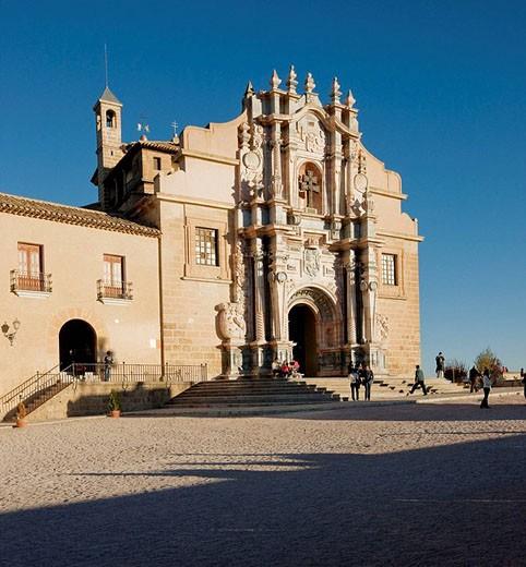 Real Alcázar Santuario de la Vera Cruz. Caravaca de la Cruz. Murcia. Spain : Stock Photo