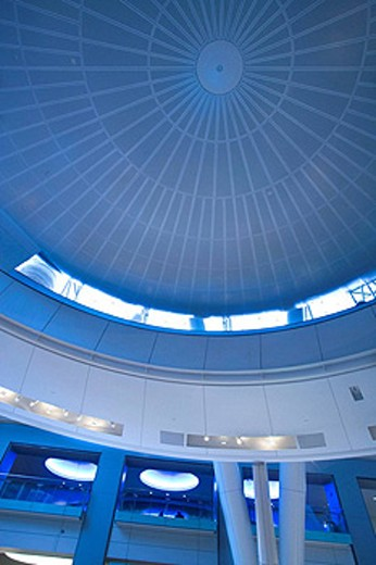 HAYDEN PLANETARIUM. ROSE CENTER. AMERICAN MUSEUM OF NATURAL HISTORY. MANHATTAN. NEW YORK. USA : Stock Photo
