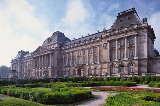 Royal Palace, Brussels. Belgium : Stock Photo