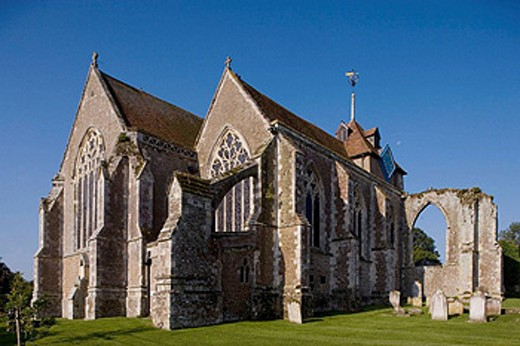 Stock Photo: 1566-419219 Winchelsea, church, 14th-century, East Sussex, UK