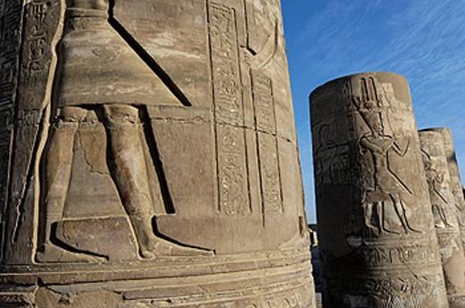 Stock Photo: 1566-419408 Temple of Kom Ombo, Egypt