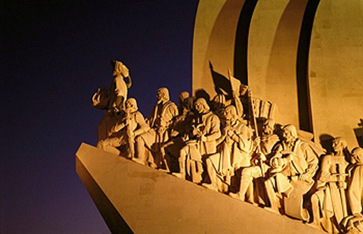 Monument to the Discoverers, Belem, Lisbon. Portugal : Stock Photo