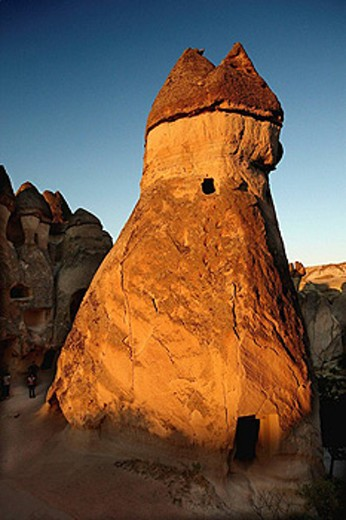 Fairy Chimneys, Devrent Valley, Zelve. Cappadocia, Turkey : Stock Photo