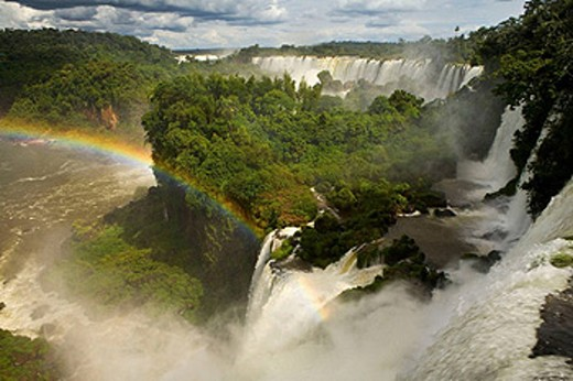 Iguazu Falls. Argentina-Brazil border : Stock Photo