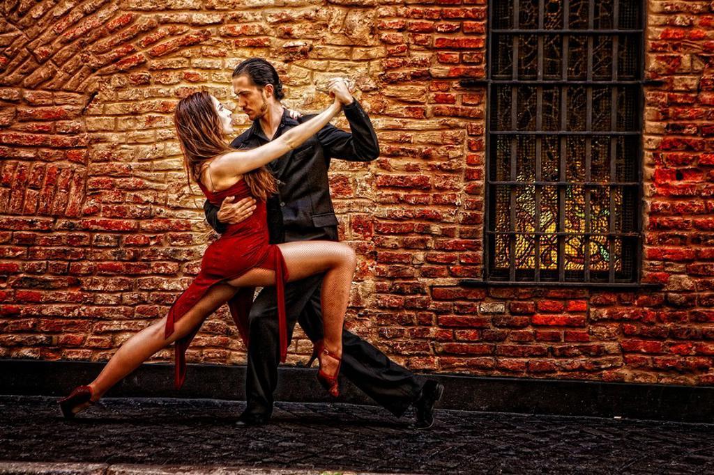 Stock Photo: 1566-423532 Tango. Buenos Aires, Argentina