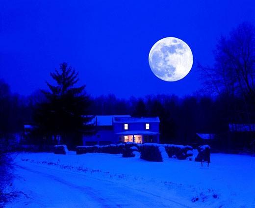 Stock Photo: 1566-424199 Scenic farm house, harriger hollow, pennsylvania, USA