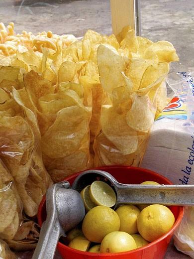Stock Photo: 1566-424986 Chips, Mexico City, Mexico