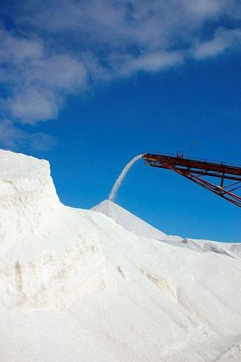 Stock Photo: 1566-424990 Salt industry, Guerrero Negro, Baja California Sur, Mexico