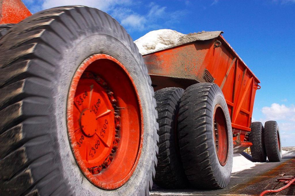 Salt industry, Guerrero Negro, Baja California Sur, Mexico : Stock Photo