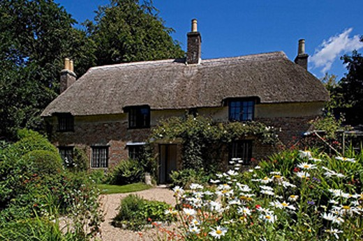 Dorchester,Thomas Hardy´s Cottage. Dorset, UK. : Stock Photo