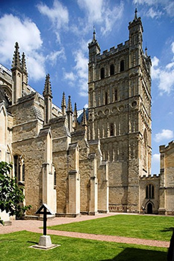 Exeter, Cathedral, Devon, UK. : Stock Photo