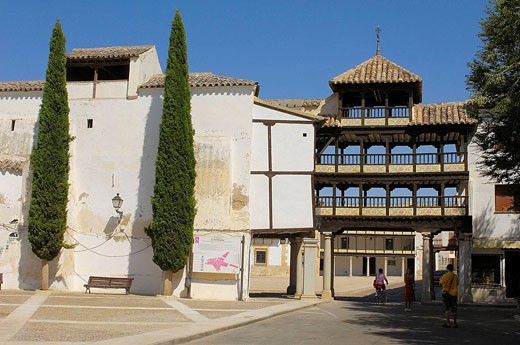 Stock Photo: 1566-427784 Main Square. 17th Century. Tembleque. Toledo province. Castilla la Mancha. Spain