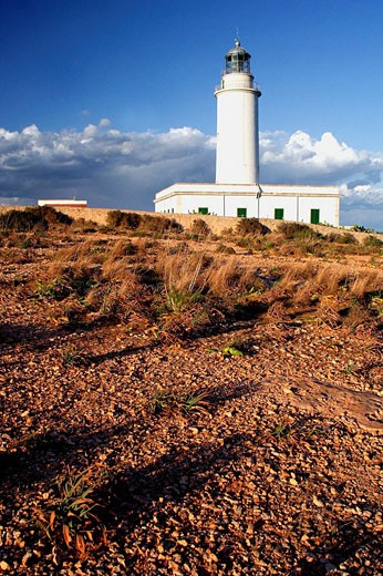 Lighthouse of la Mola. Formentera. Balearic Islands, Spain : Stock Photo