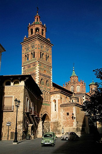 Stock Photo: 1566-428548 Cathedral (13th-14th century), Teruel. Aragon, Spain