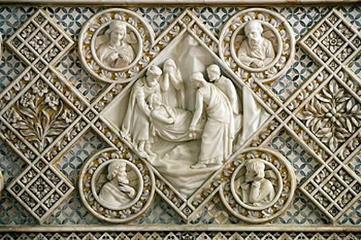Stock Photo: 1566-428808 Sudeley Castle, St Mary Church, Gloucestershire, England.