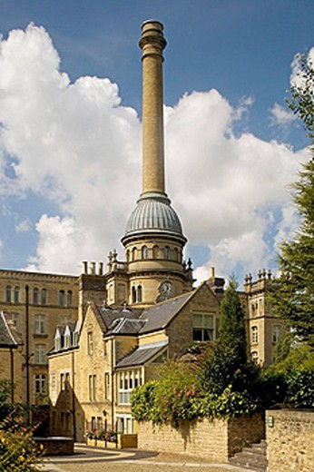 Stock Photo: 1566-428847 Chipping Norton, Bliss Mill, former Victorian Tweed Mill built in 1872. Oxfordshire, the Cotswolds, England.