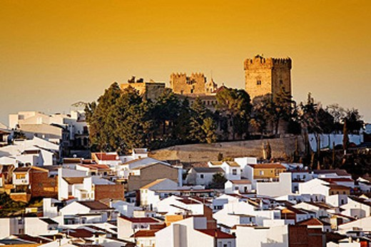 Stock Photo: 1566-430062 Montemayor Castle, Córdoba province, Spain