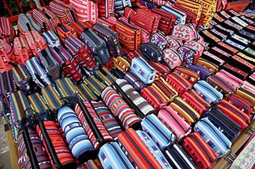 Thailand, Mae Hong Son, market, handicraft : Stock Photo