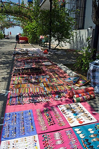 Stock Photo: 1566-434243 HANDCRAFT MARKET PASEO ESTABAN HUERTAS CASCO ANTIGUO SAN FILIPE PANAMA CITY REPUBLIC OF PANAMA