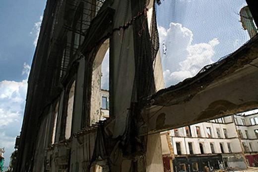 RENOVATION CALLE SAN MIGUEL CASCO ANTIGUO SAN FILIPE PANAMA CITY REPUBLIC OF PANAMA : Stock Photo