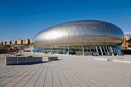 Palacio de los Deportes. Santander. Spain : Stock Photo