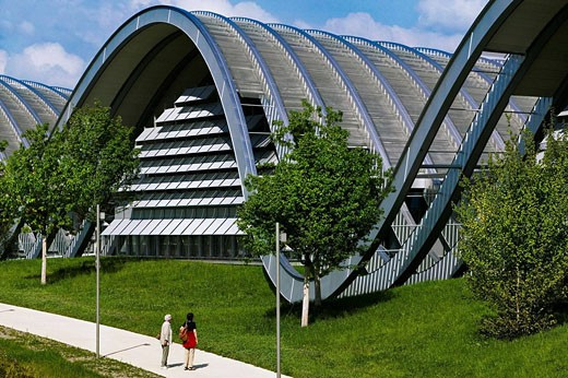 Stock Photo: 1566-434936 Paul kKee Center by  Renzo Piano. Bern. Switzerland