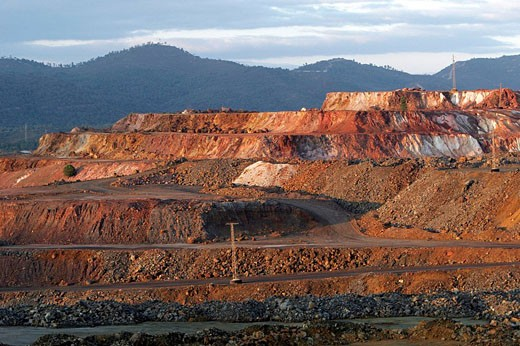 Rio Tinto mines. Huelva. Spain : Stock Photo