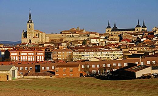 San Pedro de Lerma church. Burgos province. Castilla y Leon. Spain : Stock Photo