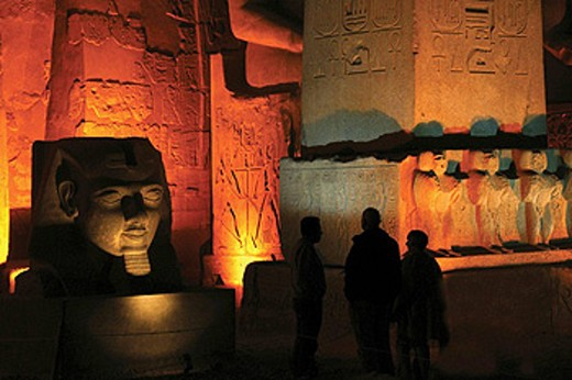 Temple of Luxor. Egypt : Stock Photo