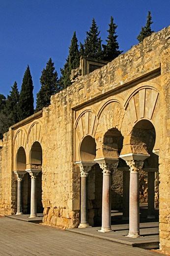 Basilic at Medina Azahara. Andalusie, Spain : Stock Photo