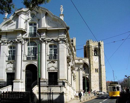 Lisboa, Portugal. : Stock Photo