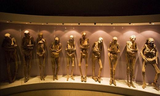 Guanajuato City. Momies Museum. Mexico. : Stock Photo